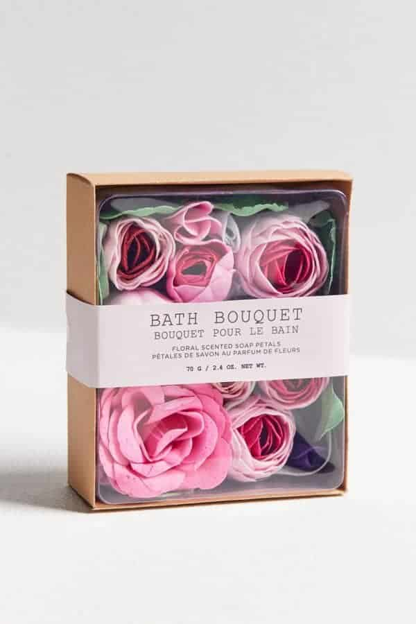 Bath Bouquet Floral-Scented Soap Petals