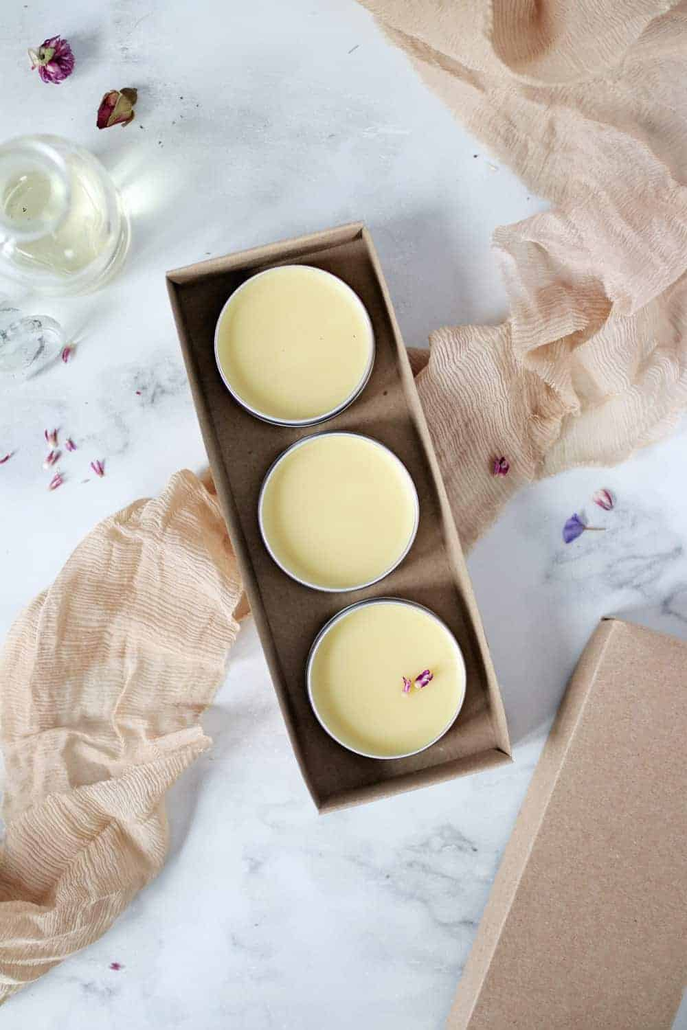 A DIY Solid Perfume Trio That's Perfect for Gifting