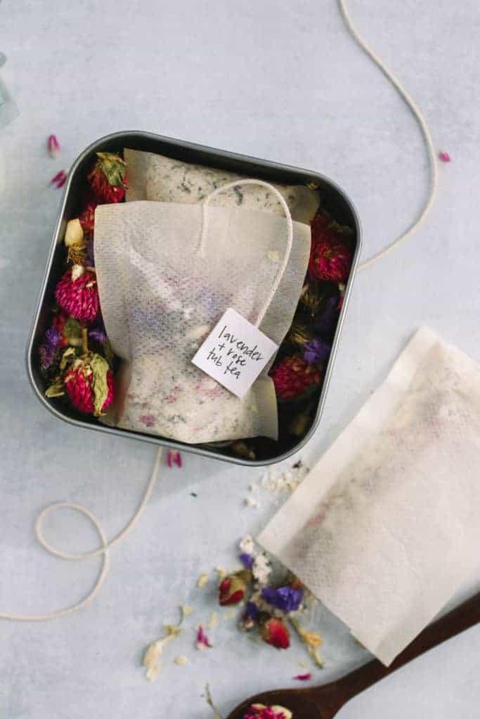 Floral Tub Tea