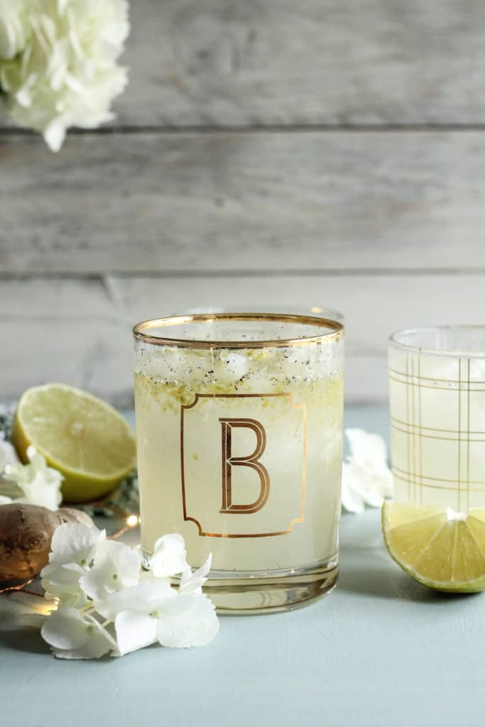 Vanilla-Lime Ginger Ale dari The Pendantic Foodie