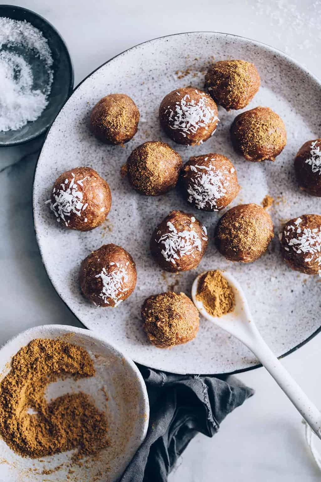 Camu Camu Pumpkin Spice Balls