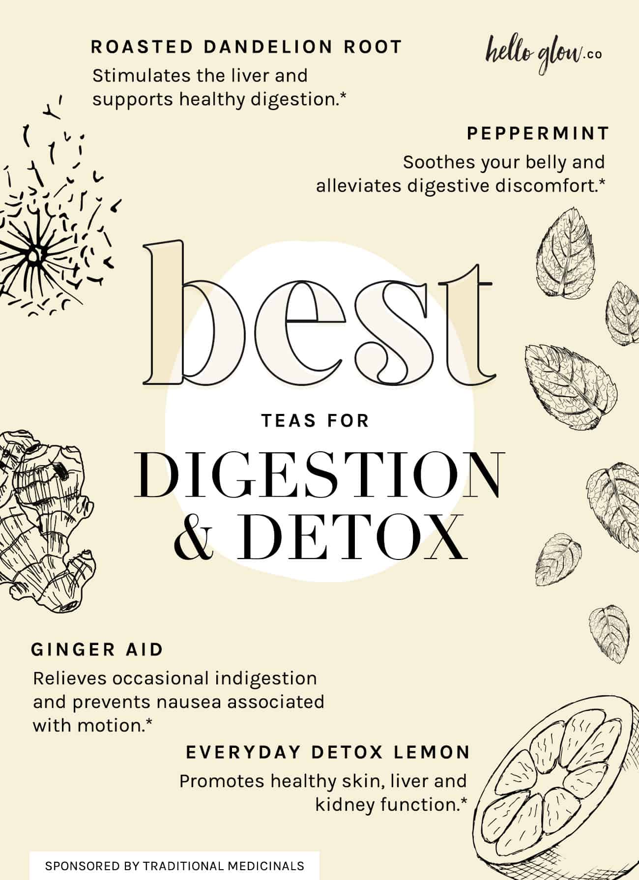 Best Teas for Digestion & Detox