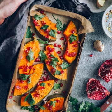 Ginger Roasted Squash