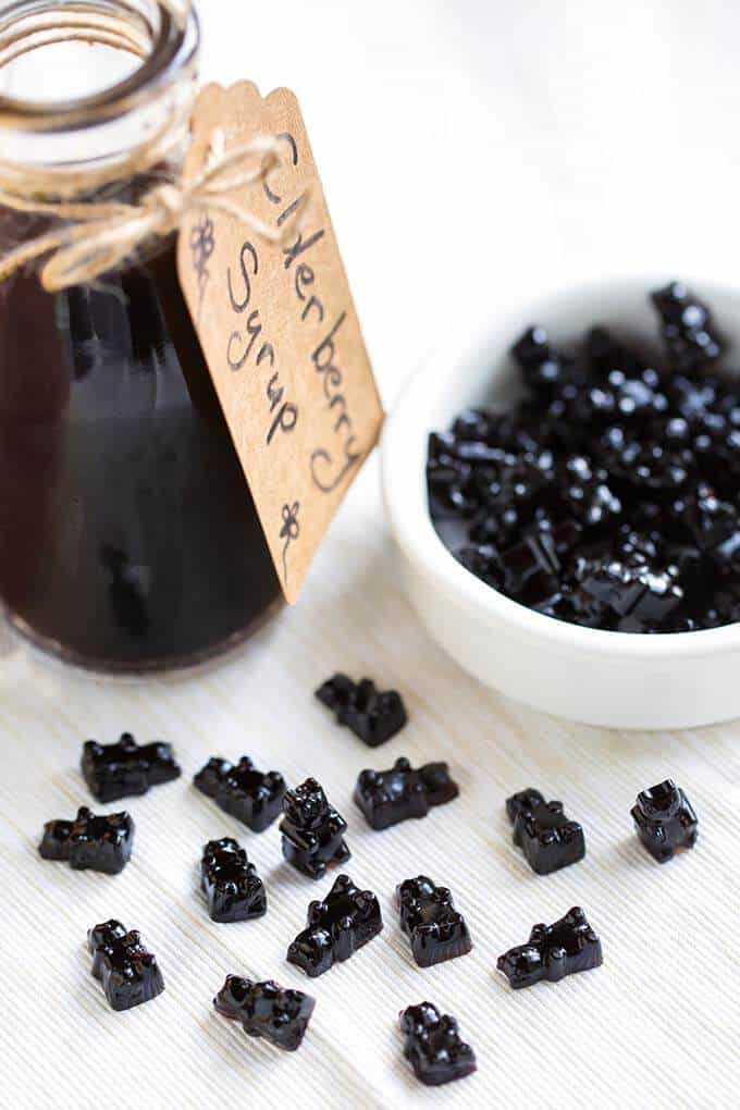 Elderberry Syrup Gummies from Simply Happy Foodie