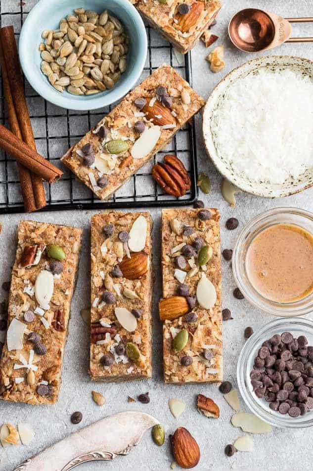 Keto Granola Bars from Life Made Sweeter | 9 Keto Breakfast Recipes