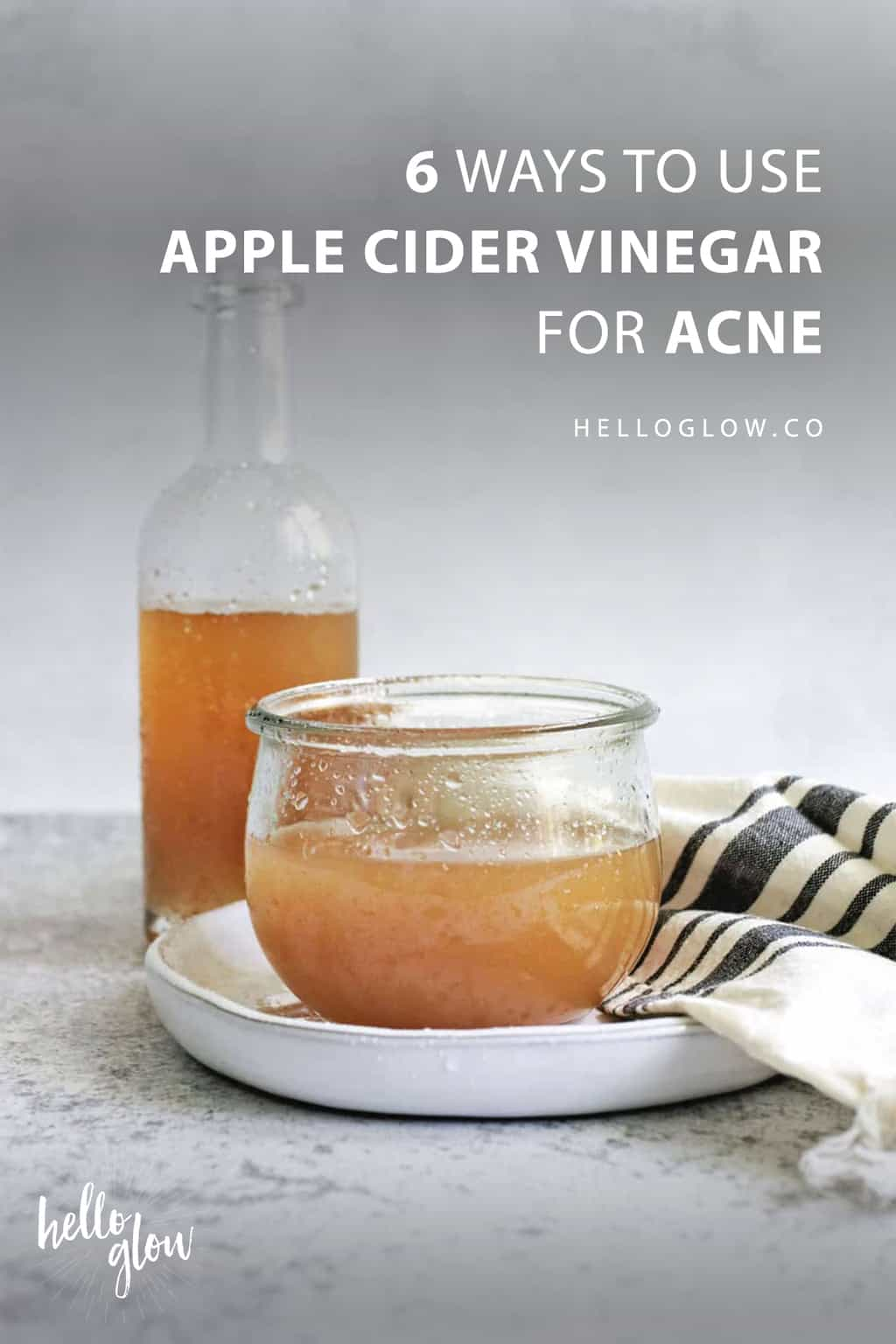 Can we use apple cider vinegar on face daily