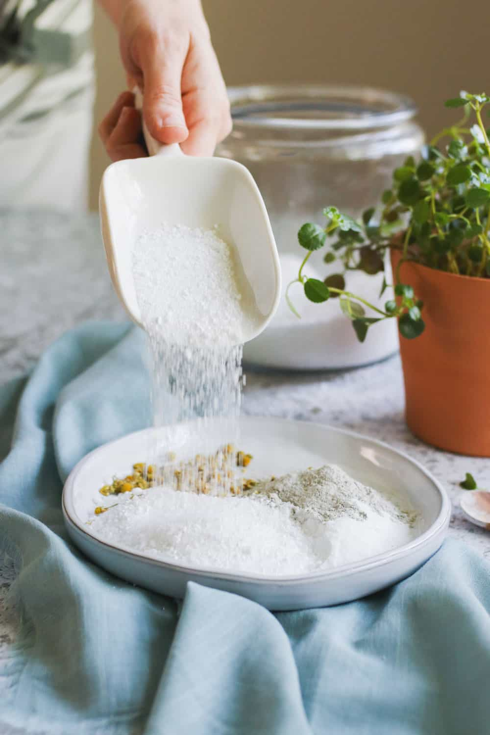 Treat Yourself to This Relaxing Epsom Salt Foot Soak