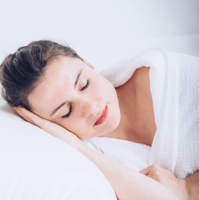 Sleep for skin