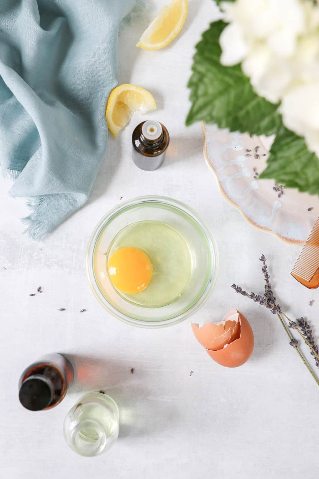 How to use eggs for hair recipes