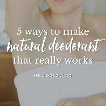 5 Ways to Get Summer-Ready Underarms - Naturally!   Hello Glow