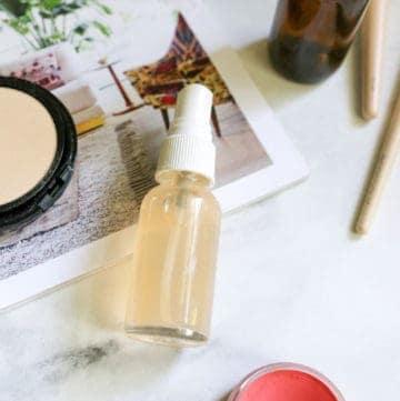Makeup Setting Spray Recipe