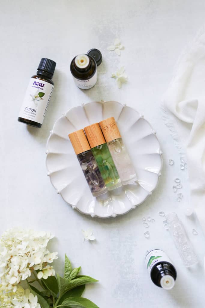 3 Perfume Blends with Essential Oils