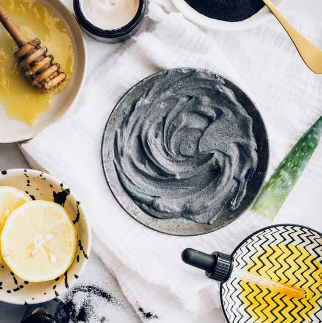 Charcoal Face Mask Recipes