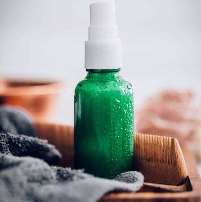Coconut Milk Hair Conditioner Spray