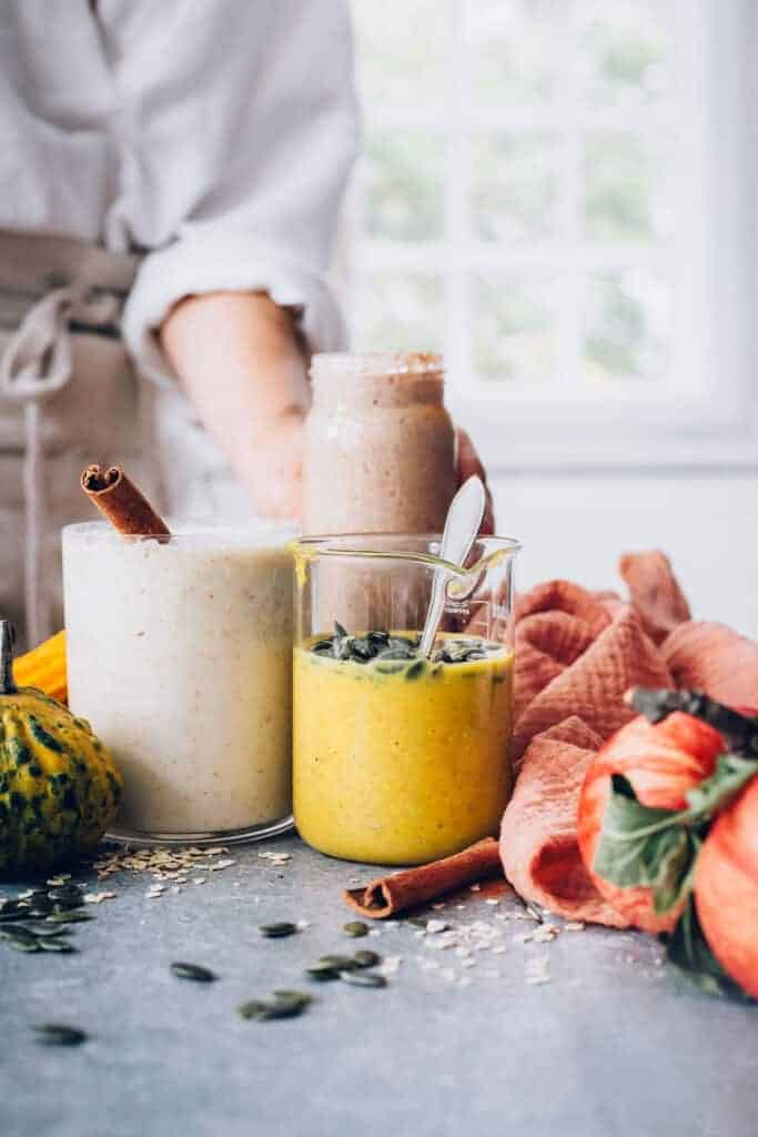 3 Fall Smoothie Recipes