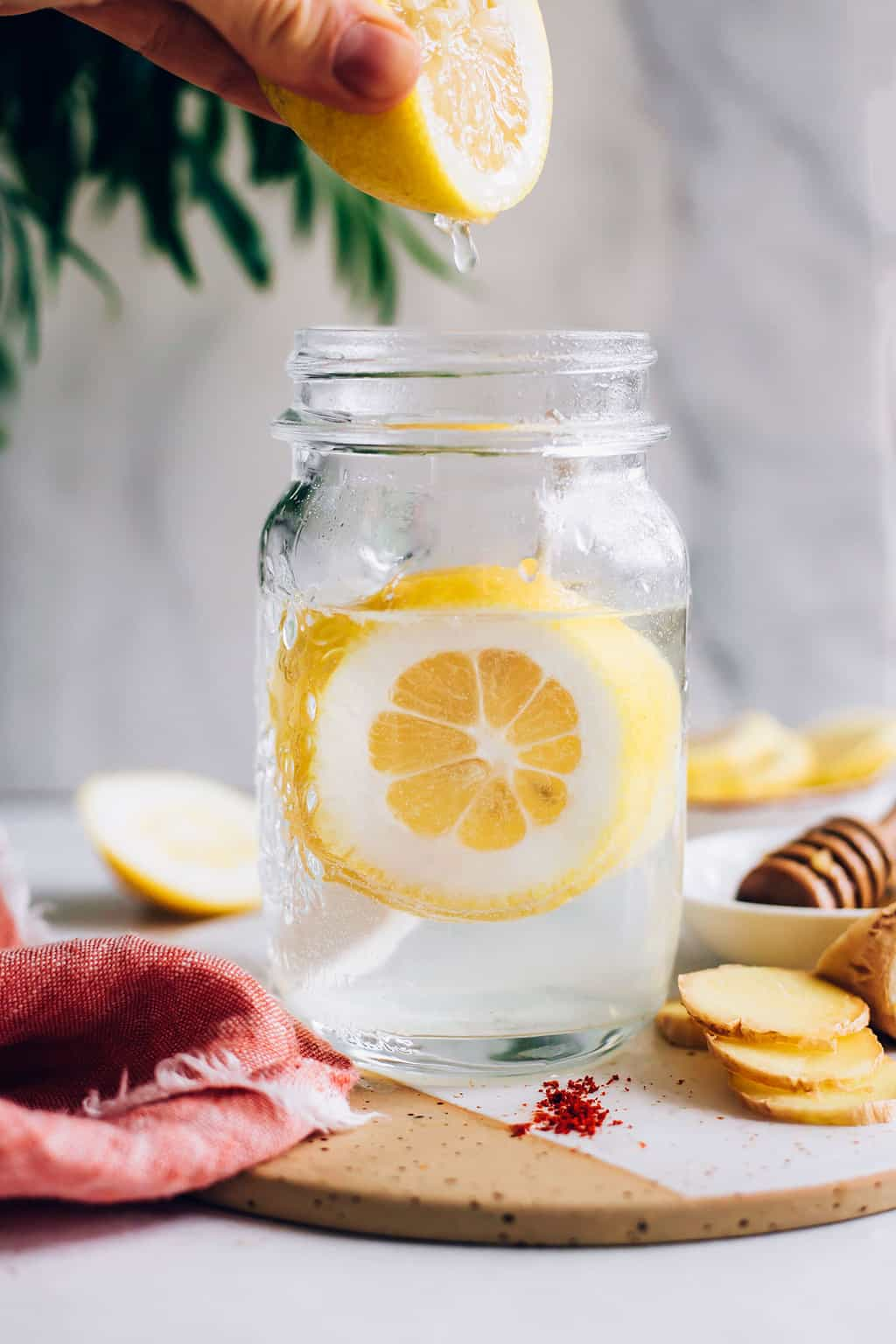 Daily Cleanse Water with Lemon