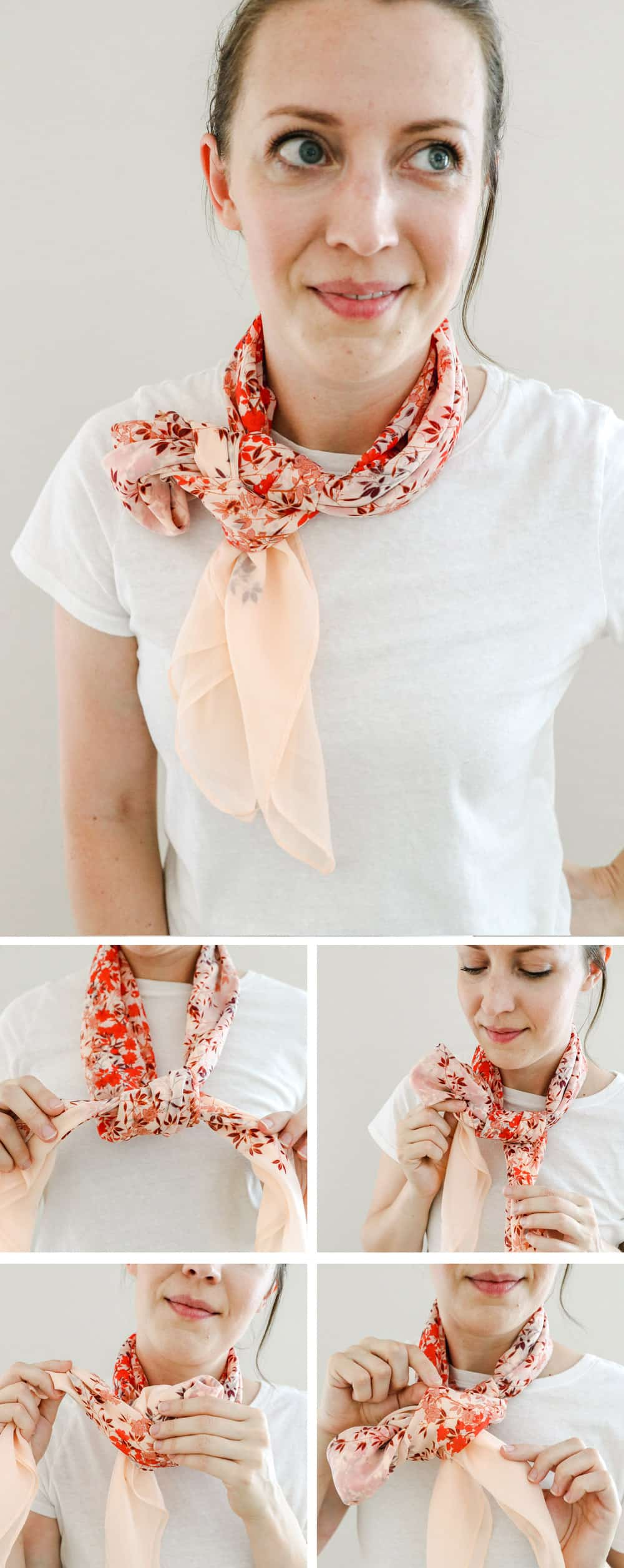 Single Side Bow | 19 Ways to Tie a Scarf