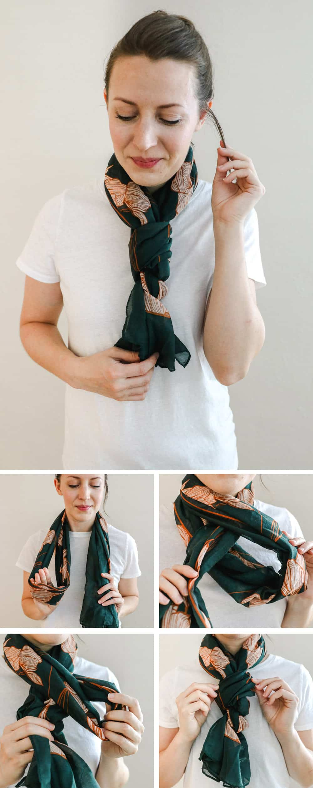 The Braid | 19 Ways to Tie a Scarf