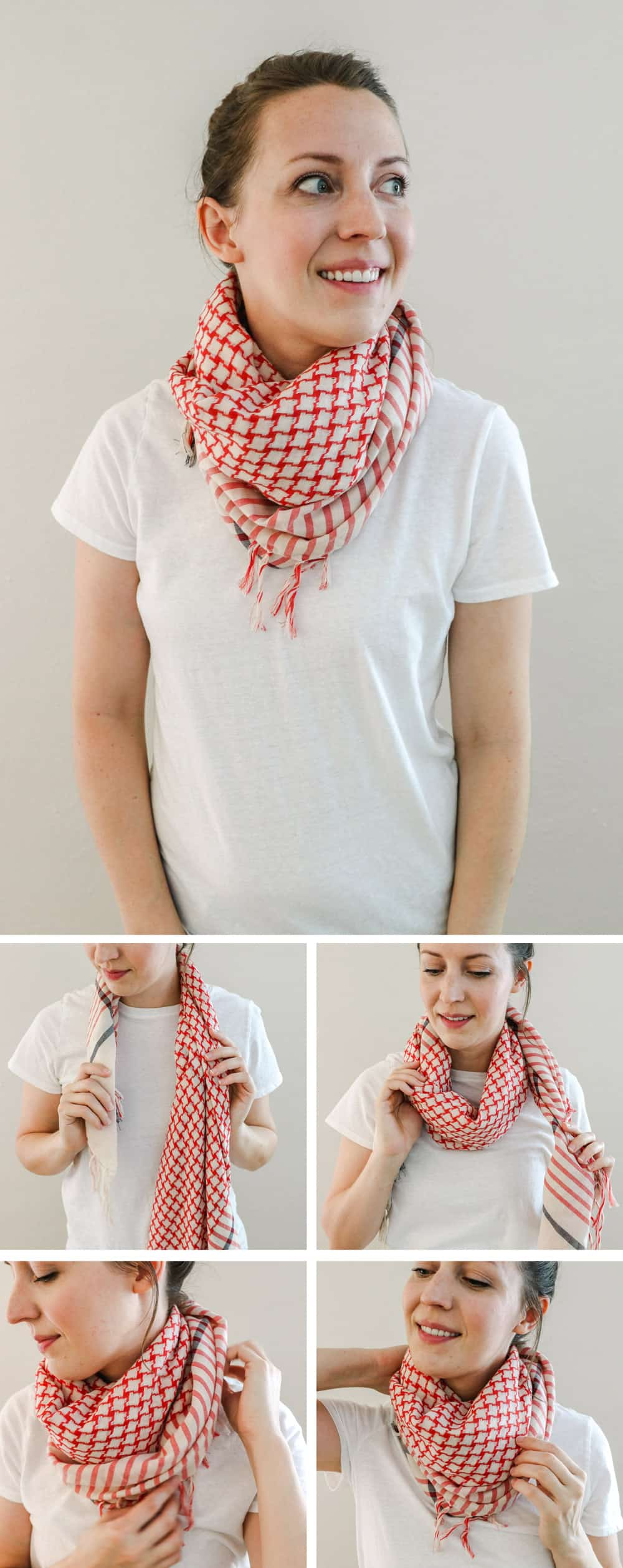 The Cowl | 19 Ways to Tie a Scarf