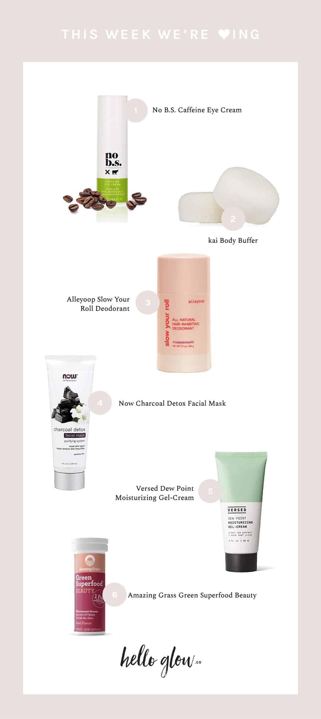 Caffeine Eye Cream & Things We Love