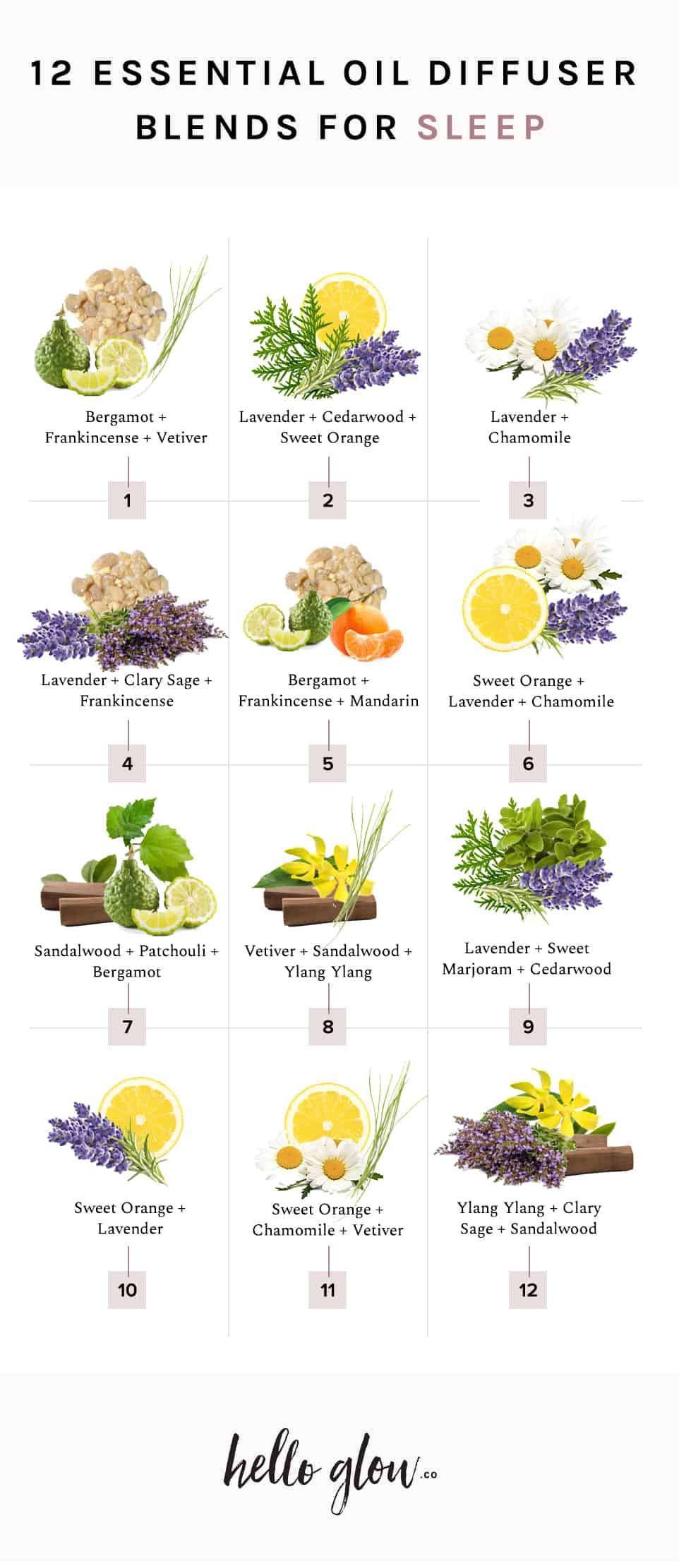 The best essential oil blends for sleep - Hello Glow