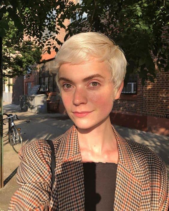Pixie cut from Claudia Barnard