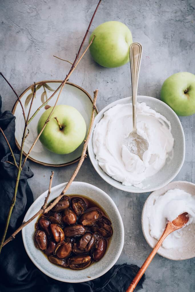 Homemade Caramel Apple Recipe Ingredients