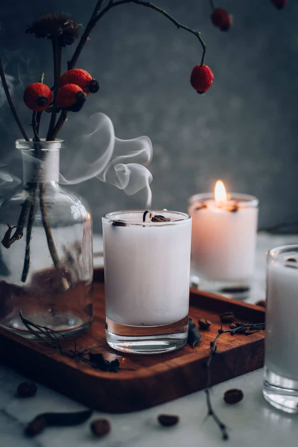 Make Your Own Diy French Vanilla Coffee Candles Hello Glow