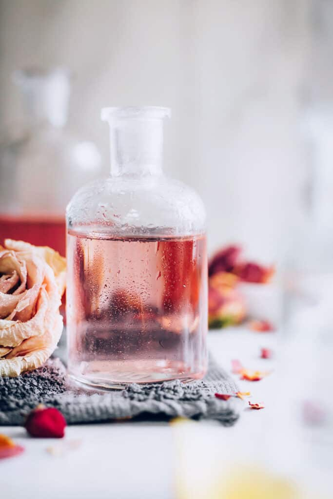 Rosewater and Witch Hazel Face Toner Recipe