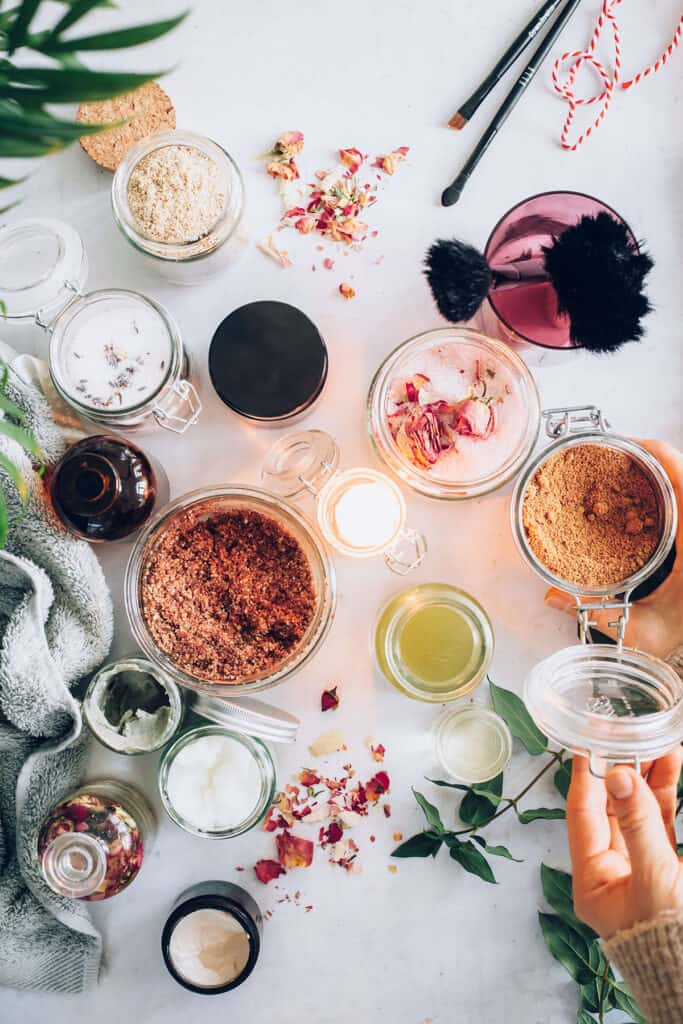 Beauty Gifts in Jars