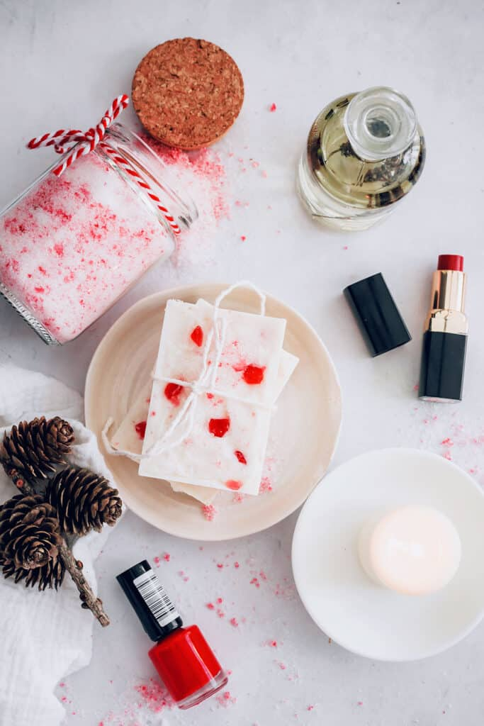 Peppermint soap | Peppermint Beauty Gift Basket