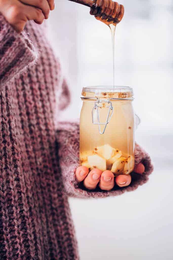 Homemade Ginger Tea + The Health Benefits of Ginger