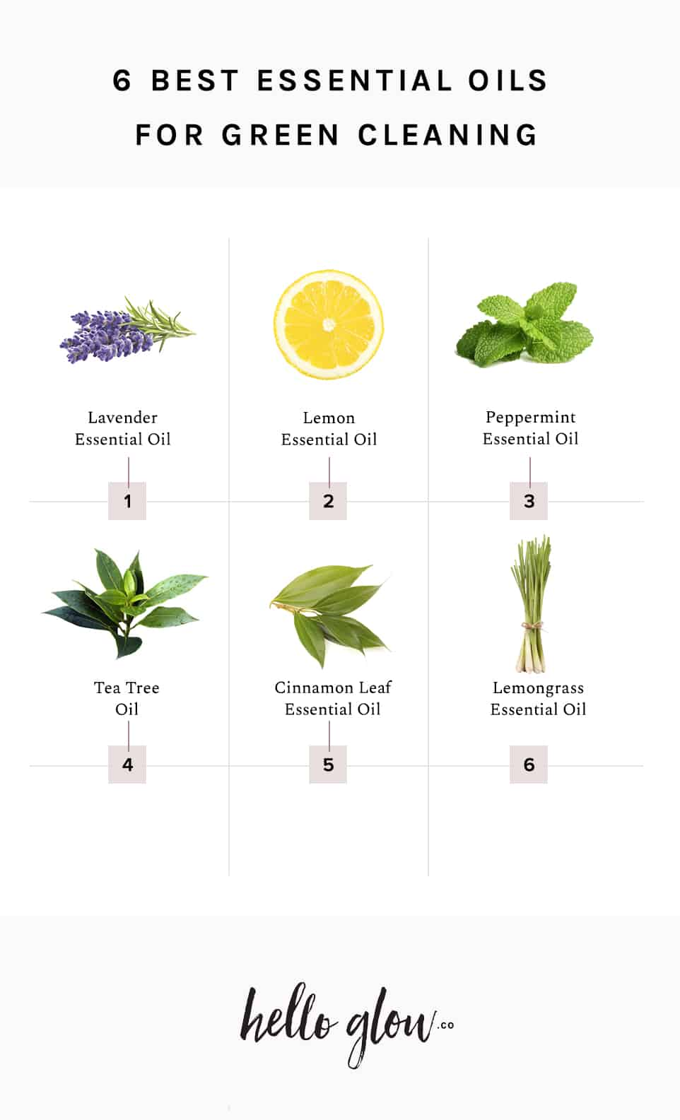 6 Best Essential Oils for Green Cleaning - HelloGlow.co