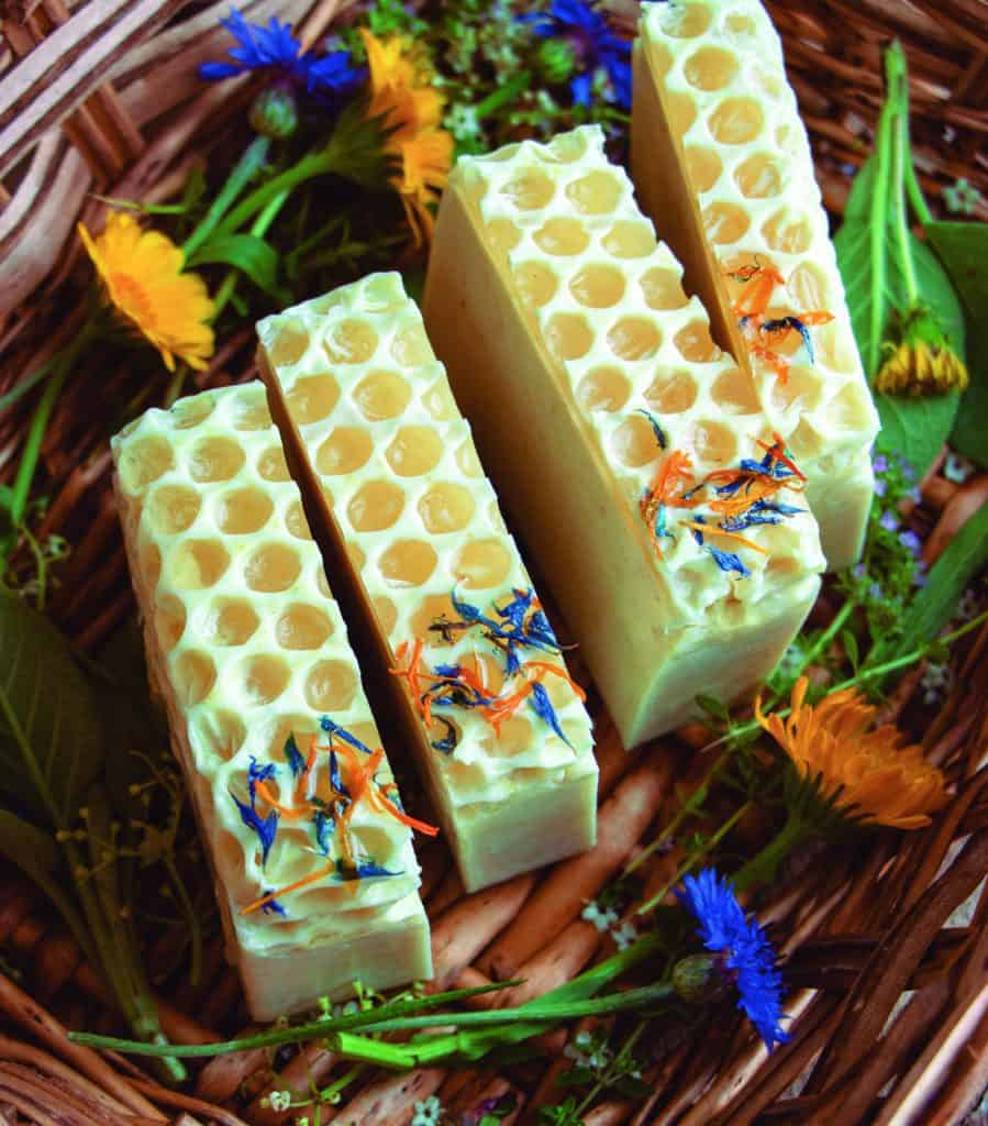 Wildflower Honey Soap from Easy Homemade Melt & Pour Soaps