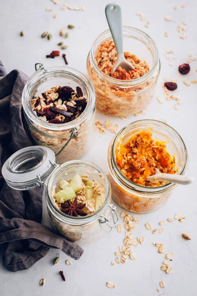 4 Overnight Oat Recipes