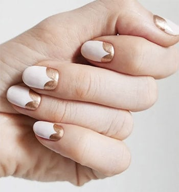 Rose Gold Manicure from Allure