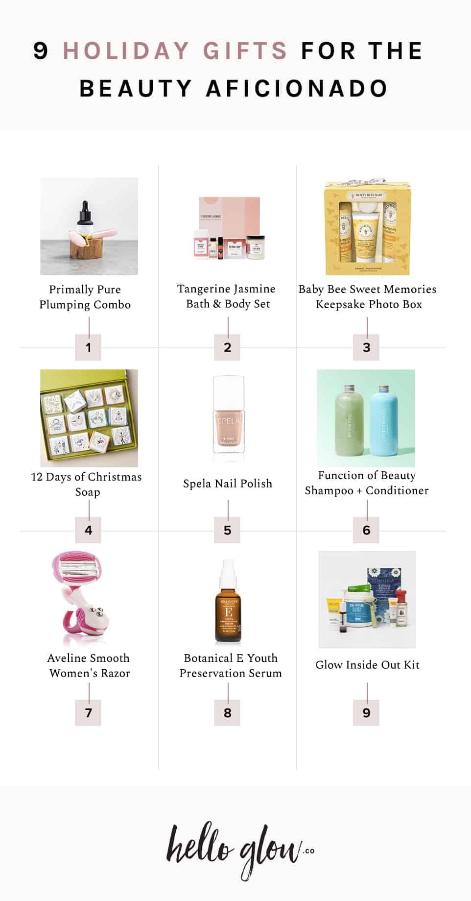 9 Holiday Gifts for the Beauty Aficionado - HelloGlow.co