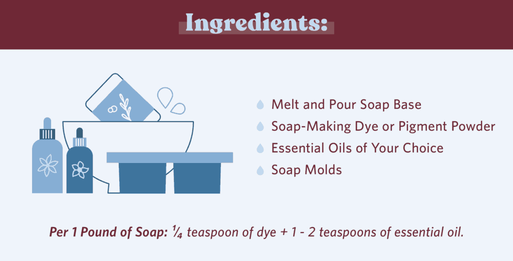 DIY Scented Soap Ingredients