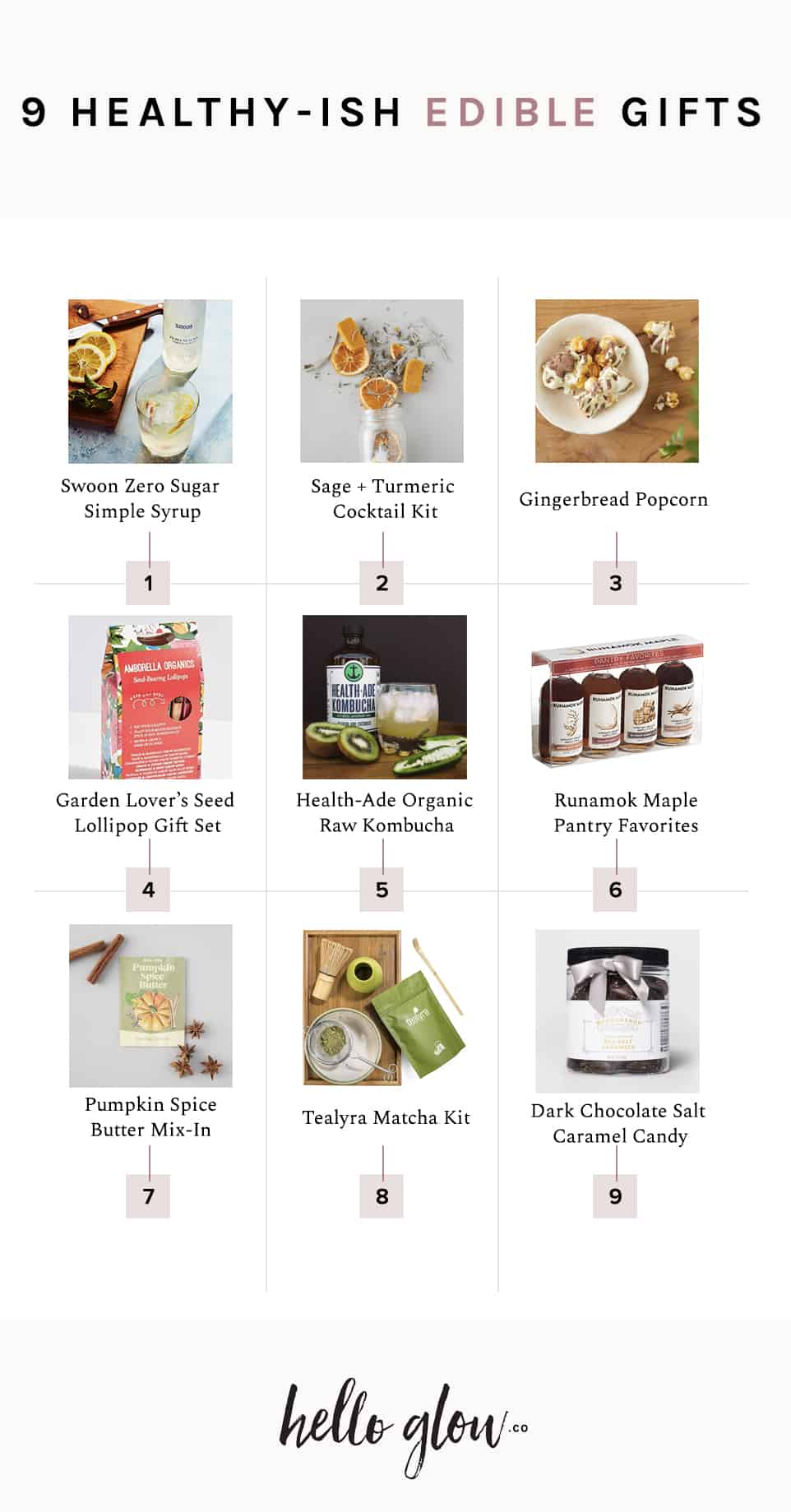 9 Healthy-ish Edible Gifts - Hello Glow