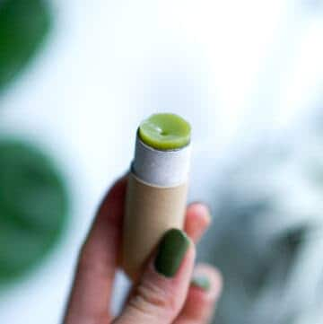 Matcha Lip Balm Recipe