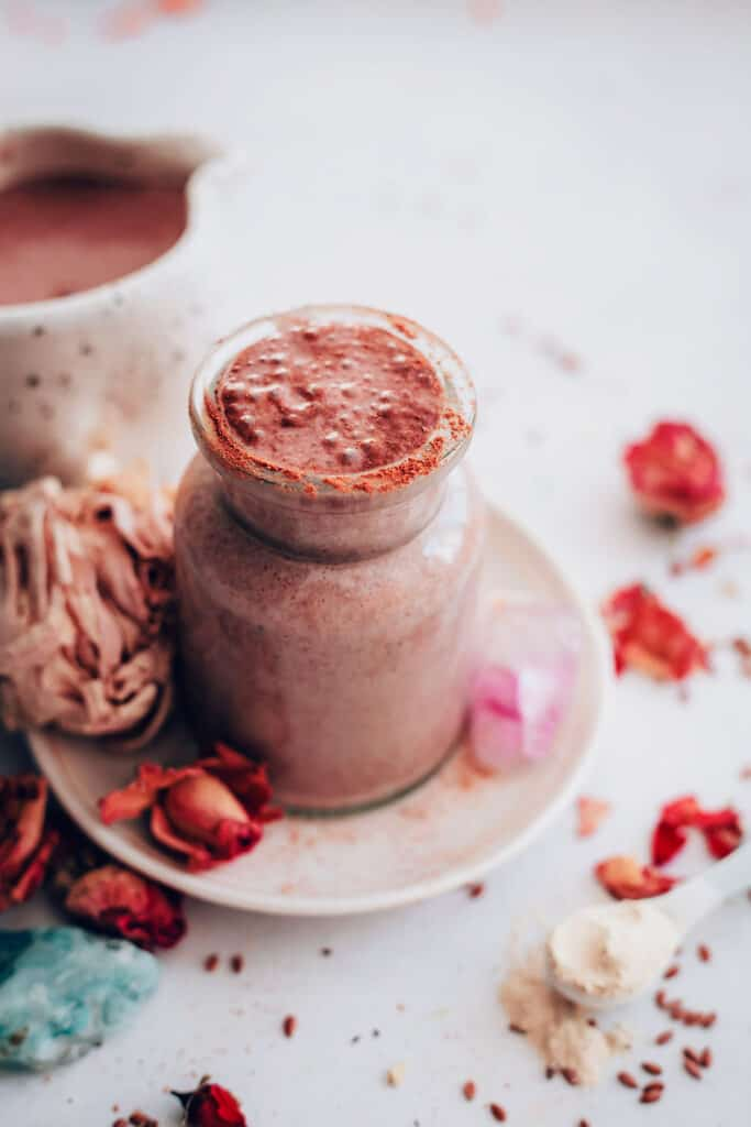 Skin Benefits of Flaxseeds | Flax + Maca Smoothie Recipe