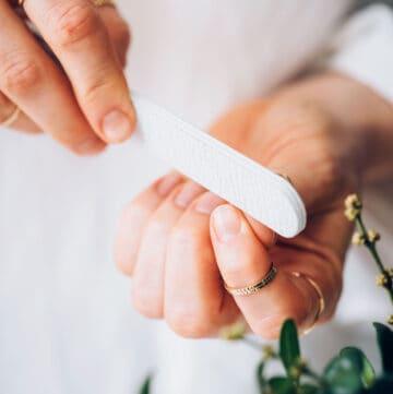 No Polish Manicure Shape Nails