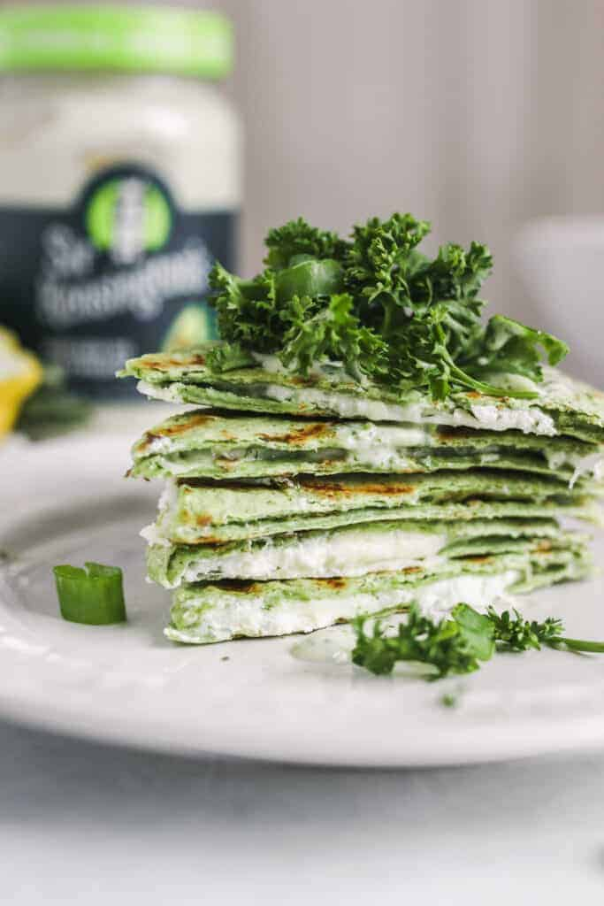 Green Goddess Quesadilla Recipe