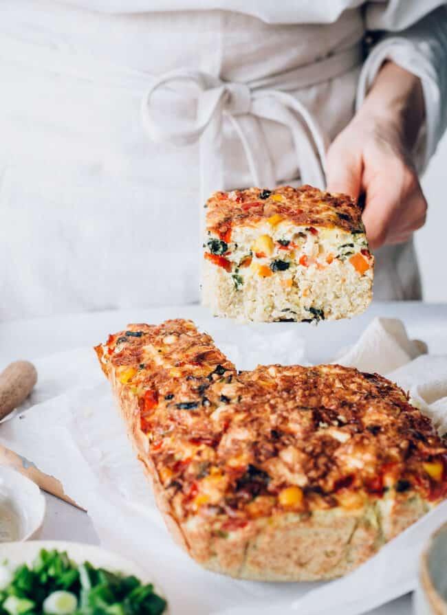 Quinoa Egg Bake Recipe