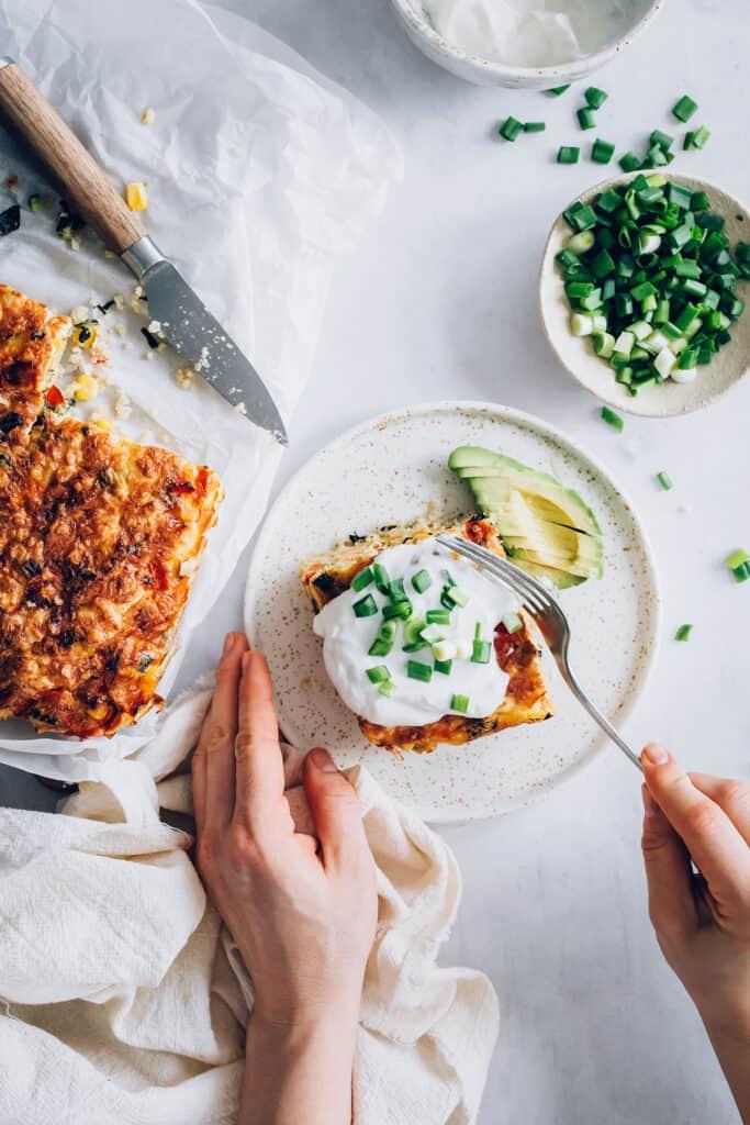 Make Ahead Egg Casserole Recipe with Quinoa