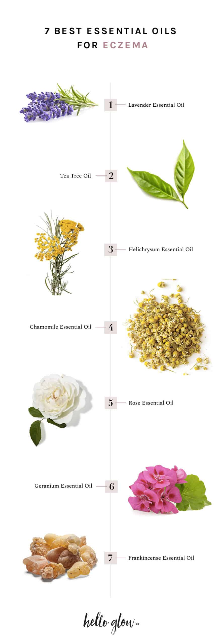 7 Best Essential Oils for Eczema - HelloGlow.co