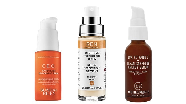 Serums for normal or combination skin