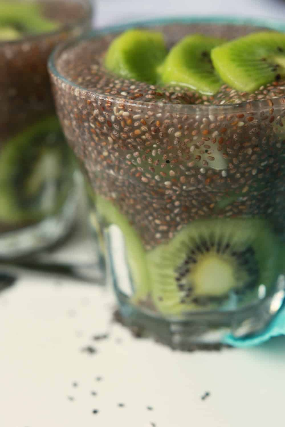 Kiwi Chia Seed Cooler from Gluten Free Made Easy
