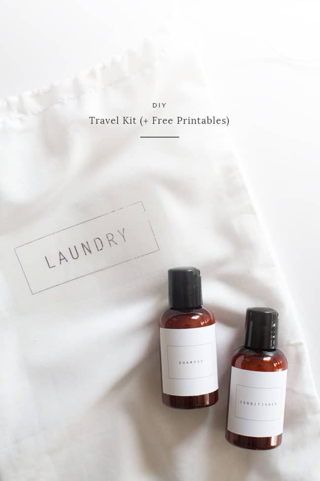 Travel Kit With Printables from Almost Makes Perfect