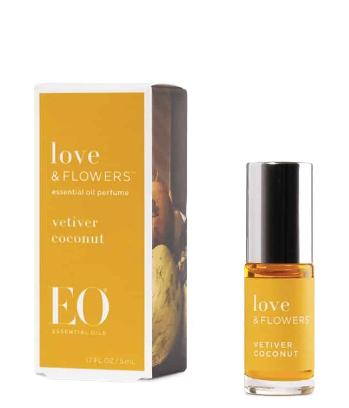 Love & Flowers Vetiver Coconut Perfume